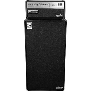 Ampeg Heritage SVT-CL 300 Watt Tube Bass Amp Head with 8x10 800 Watt Bass Speaker C...