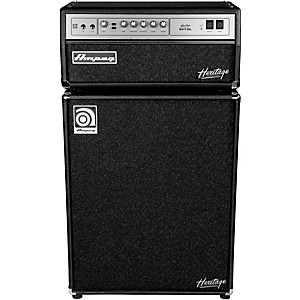 Ampeg Heritage SVT-CL 300 Watt Tube Bass Amp Head�with 4x10 500 Watt Bass Speaker C... by Ampeg