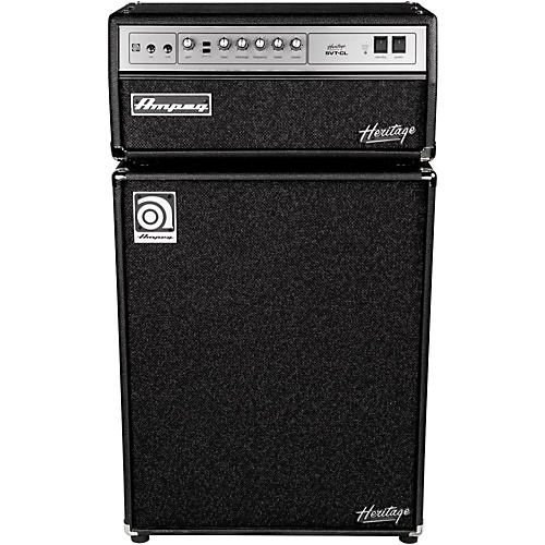 Ampeg Heritage SVT-CL 300W Tube Bass Amp Head with 4x10 500W Bass Speaker Cab-thumbnail
