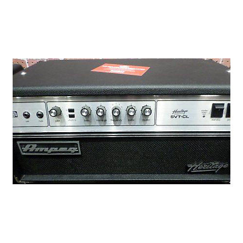 used ampeg heritage svt cl classic 300w tube bass amp head guitar center. Black Bedroom Furniture Sets. Home Design Ideas