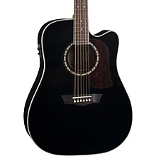 Heritage Series HD10SCE Acoustic-Electric Cutaway Dreadnought Guitar Gloss Black