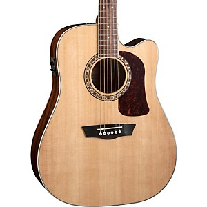 Washburn Heritage Series HD10SCE Acoustic-Electric Cutaway Dreadnought Guit... by Washburn