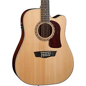 Washburn Heritage Series HD10SCE12 12 String Acoustic-Electric Cutaway Drea... by Washburn