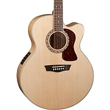 Washburn Heritage Series USM-HJ40SCE Jumbo Acoustic-Electric Guitar