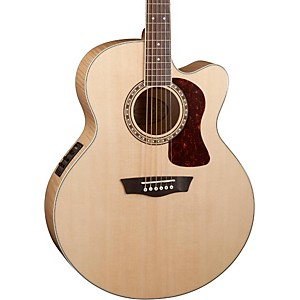 Washburn Heritage Series USM-HJ40SCE Jumbo Acoustic-Electric Guitar by Washburn