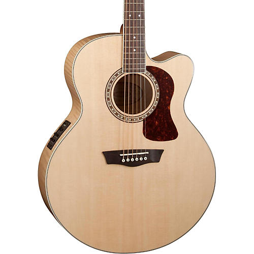 Washburn Heritage Series USM-HJ40SCE Jumbo Acoustic-Electric Guitar-thumbnail