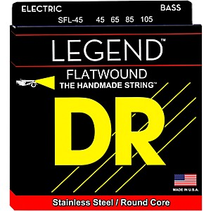 DR Strings Hi-BEAM FLATS Flatwound Stainless Steel Bass Strings Short Scale... by DR Strings