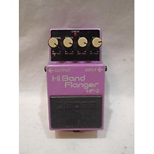 Boss Hi Band Flanger HF2 Effect Pedal