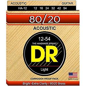 DR Strings Hi-Beam 80/20 Medium Acoustic Guitar Strings by DR Strings