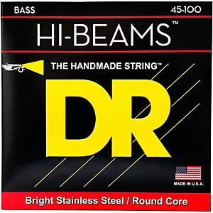 DR Strings Hi-Beams Medium-Lite 4 String Bass Strings by DR Strings