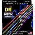 DR Strings Hi-Def NEON Multi-Color Coated Light N' Heavy Electric Guitar Strings (9-46) thumbnail