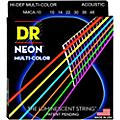 DR Strings Hi-Def NEON Multi-Color Coated Lite Acoustic Guitar Strings  Thumbnail