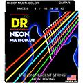 DR Strings Hi-Def NEON Multi-Color Coated Lite Electric Guitar Strings-thumbnail