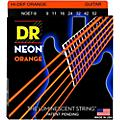 DR Strings Hi-Def NEON Orange Coated Lite 7-String Electric Guitar Strings (9-52)-thumbnail