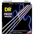 DR Strings Hi-Def NEON White Coated Medium 5-String Bass Strings  Thumbnail