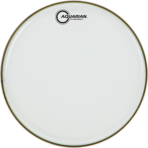 Aquarian Hi-Frequency Drumhead Black Black 18 in.-thumbnail