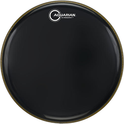 Aquarian Hi-Frequency Drumhead Black