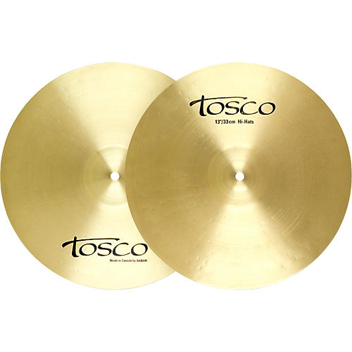 Tosco Hi-Hat Cymbal Pair