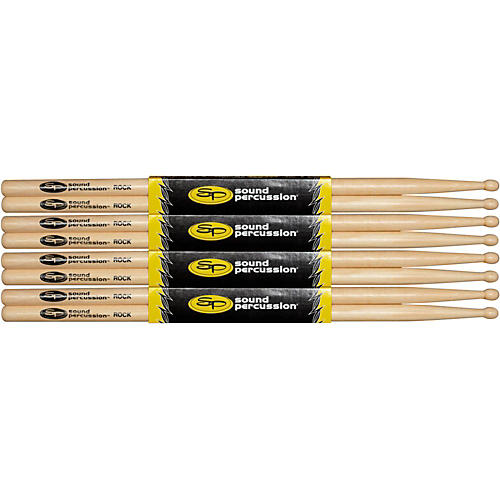 Sound Percussion Labs Hickory Drumsticks 4-Pack-thumbnail