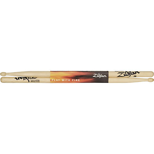 Zildjian Hickory Series Drumsticks with Wood Tip-thumbnail