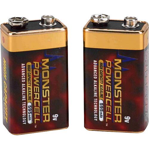 Monster Legacy High-Capacity Alkaline 9V Power Cell Two Pack