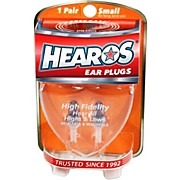 Hearos High Fidelity-Series Long-Term Earplugs (1 Pair)