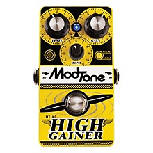 Modtone High Gainer Super Distortion Guitar Effects Pedal Level 1