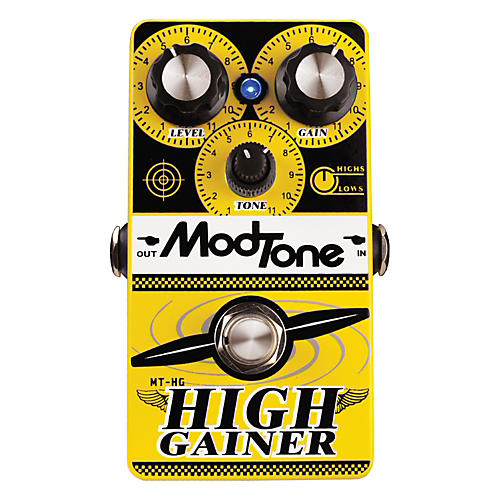 Modtone High Gainer Super Distortion Guitar Effects Pedal-thumbnail