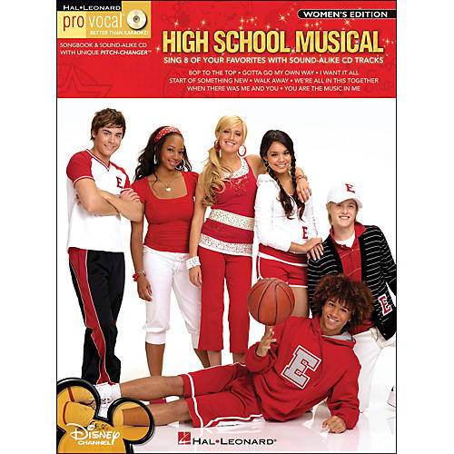 Hal Leonard High School Musical - Pro Vocal Songbook & CD for Female Singers-thumbnail