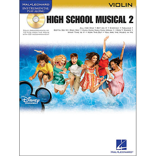 Hal Leonard High School Musical 2 for Violin Book/CD-thumbnail