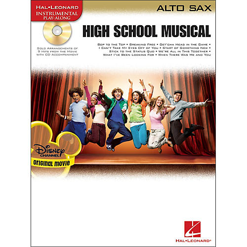 Hal Leonard High School Musical for Alto Sax Book/CD-thumbnail