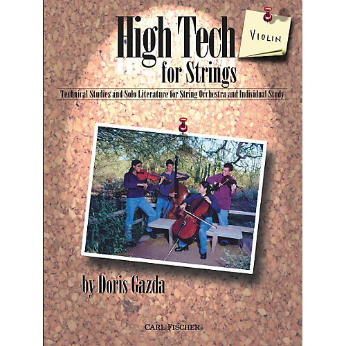 Carl Fischer High Tech For Strings: Violin