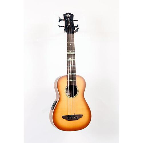 Luna Guitars High Tide Bass Acoustic-Electric Ukulele-thumbnail