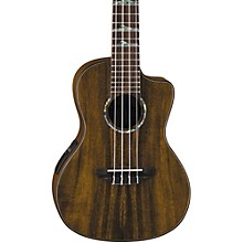 Luna Guitars High-Tide Koa Concert Acoustic-Electric Ukulele