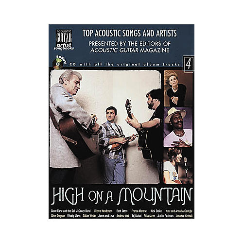 String Letter Publishing High on a Mountain (Book/CD)