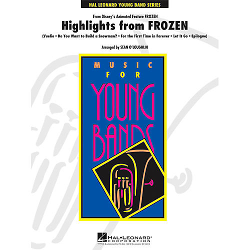Hal Leonard Highlights from Frozen - Young Concert Band Level 3