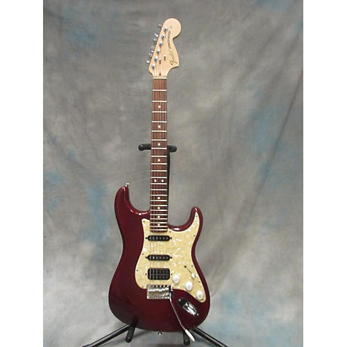 Fender Highway One HSS Stratocaster Solid Body Electric Guitar Red