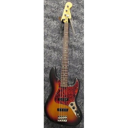 Fender Highway One Jazz Bass 3 Tone Sunburst Electric Bass Guitar-thumbnail