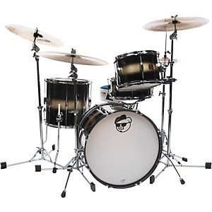 Pork Pie Hip Pig 3-Piece Mahogany shell Pack with 20 inch Bass Drum by Pork Pie