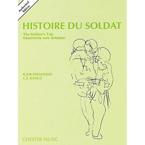 Music Sales Histoire Du Soldat (The Soldier's Tale) Stravinsky Authorized Edition Study Score-thumbnail