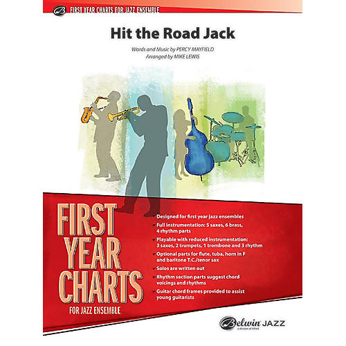 BELWIN Hit the Road Jack Grade 1 (Easy)-thumbnail