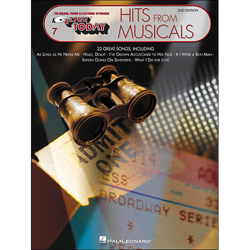 Hal Leonard Hits From Musicals 2nd Edition E-Z Play 7-thumbnail
