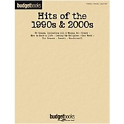Hal Leonard Hits Of The 1990s & 2000s - Budget Book for Piano/Vocal/Guitar