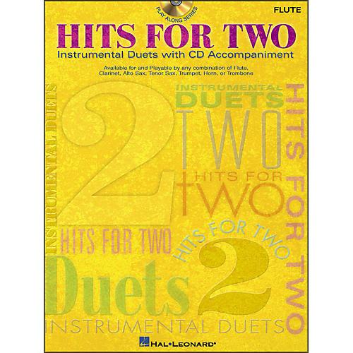 Hal Leonard Hits for Two (Instrumental Duets) for Flute Book/CD Pkg-thumbnail