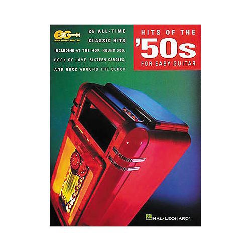Hal Leonard Hits of the 50's for Easy Guitar Book-thumbnail