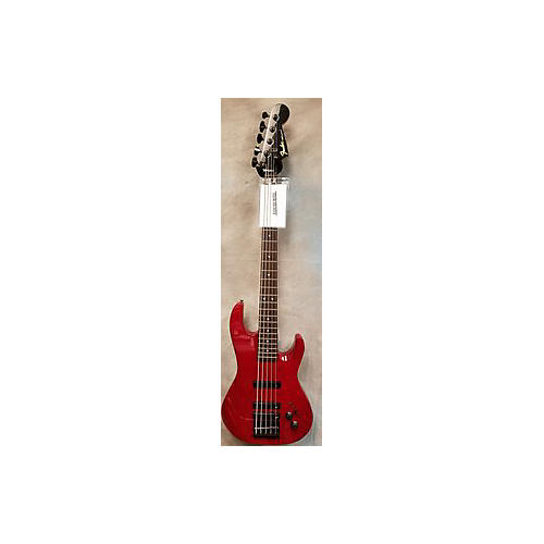 Fender Hm Bass V Electric Bass Guitar Red