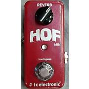 TC Electronic Hof Reverb Mini Effect Pedal