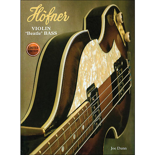 Hal Leonard Hofner Violin Beatle Bass Book-thumbnail
