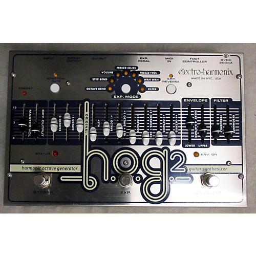 Electro-Harmonix Hog2 Harmonic Octave Generator Effect Pedal