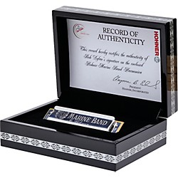 Hohner Bob Dylan Hand-Signed Single Key Harmonica - Key of C (BDSS1)